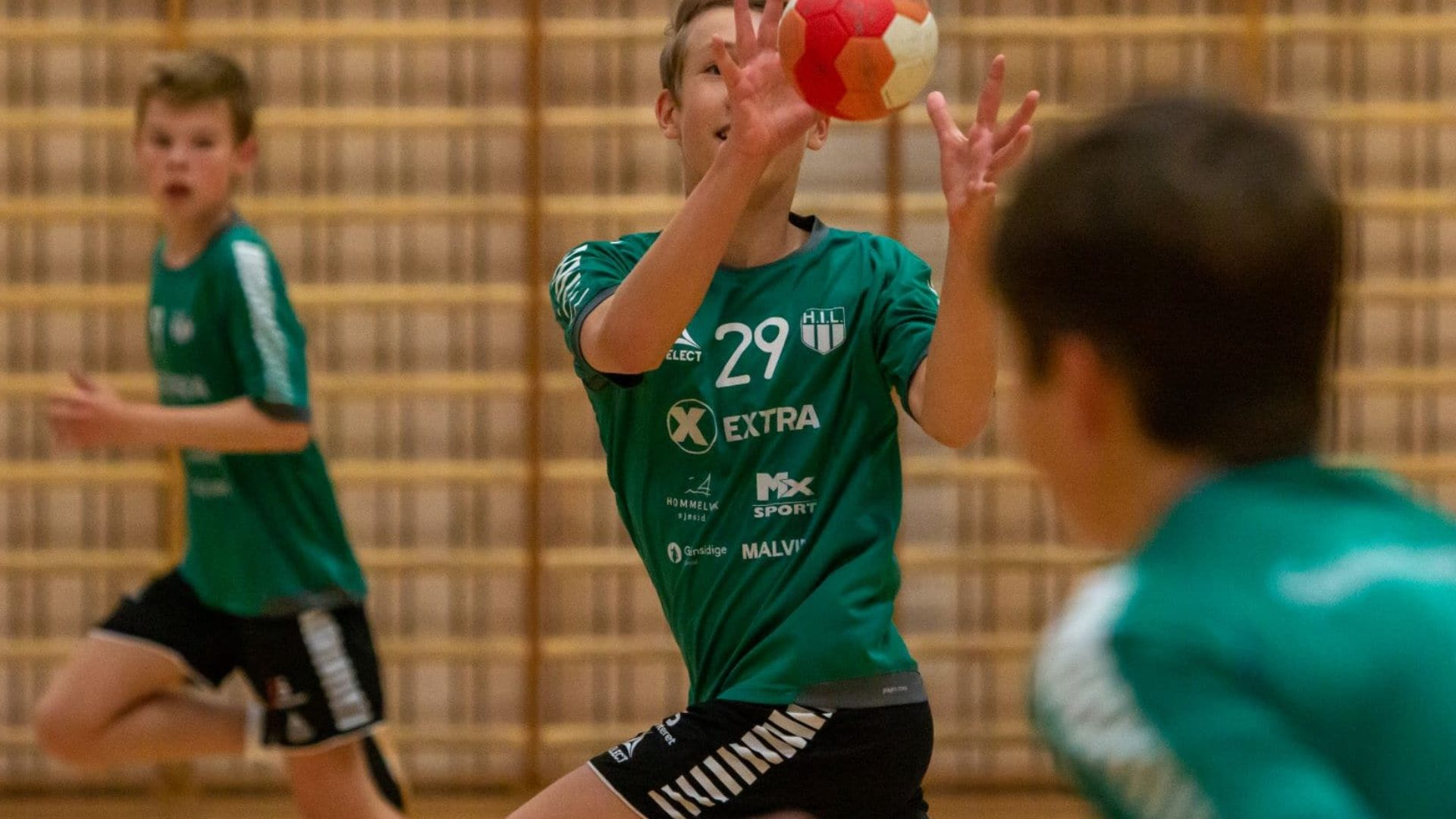 Hommelvik håndball «in action» i september